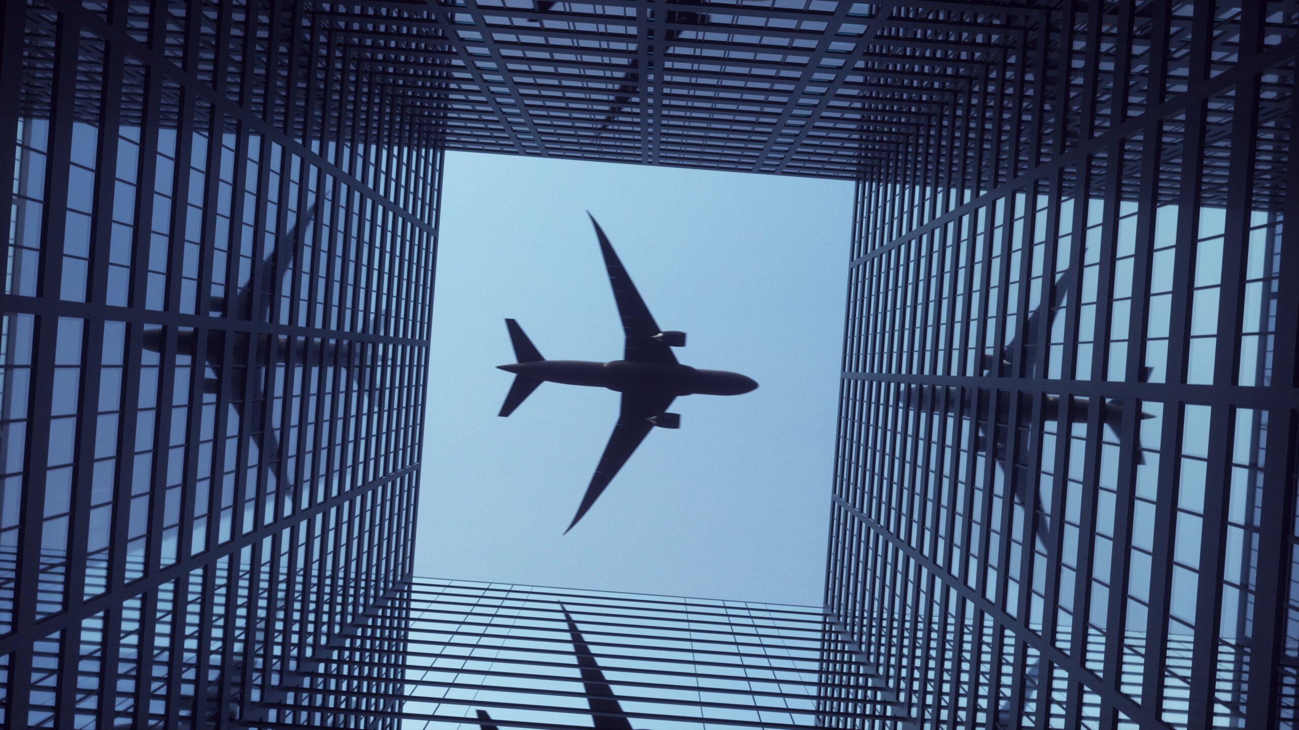 Боинг самолет полет Далас